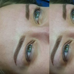 Powder-Brows Puder Augenbrauen Permanent Make-up Berlin